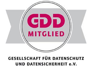 Auszeichnung GDD Mitglied
